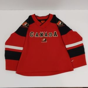 2/$20 Nike Team Canada boy's red jersey size 3